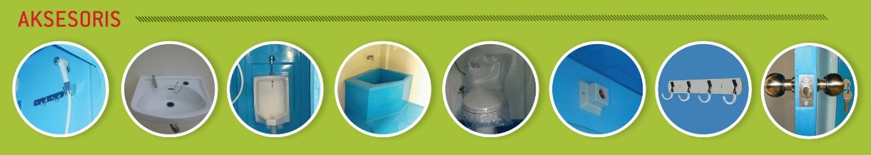 Aksesoris Toilet Portable Fiberglass